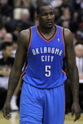 Kendrick Perkins OKC basketball team